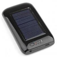 Buy cheap Black 5.5V / 120ma 2600MAH Rechargeable Digital solar battery chargers with LED Lamp from wholesalers