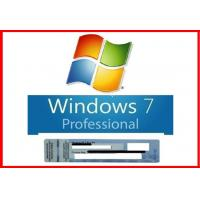 Buy cheap New Sealed Microsoft Windows 7 Pro Professional 64 Bit DVD+100% Original COA License Key from wholesalers