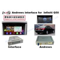 Buy cheap 1GB/2GB RAM Infiniti Q50/Q50L Android Auto Interface with GPS navigation Multimedia System from wholesalers