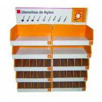 Buy cheap Cardboard Retail Half Pallet Display , Point Of Purchase Displays For Knife from wholesalers
