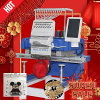 China Like swf/tajima embroidery machine cheap computer embroidery machine price with best dahao A15 for cap, t-shirt flat, 3d on sale