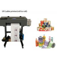 Buy cheap USB UV Multicolor Roll To Roll Label Printer Maxmum 250mm Printing Width from wholesalers