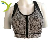 Buy cheap New Jacquard Fabric Tank tops Yoga Wear Bra Womens Sports Bra Breathable Bra from wholesalers
