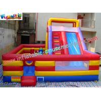 Buy cheap ODM Jumping slide, Outdoor Commercial Inflatable Slide 7.5L x 7W x 5.2H Meter for Child product