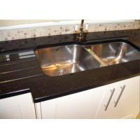 Bullnose Edge Natural Granite Slabs For Kitchen Countertops , 2CM Thick