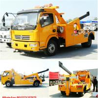 Buy cheap road wrecker with crane Tow crane road wrecker WhatsApp:8615271357675  Skype:tomsongking from wholesalers