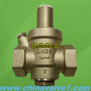China Direct action Diaphragm type pressure reducing valve,Pressure regulator on sale