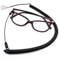 Buy cheap Anti - Theft Safety 1.5m Long Black Pure PU Cable Tool Lanyard With Glasses from wholesalers