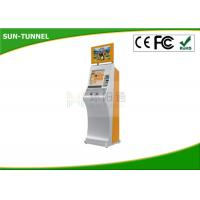 Buy cheap Durable Anti Corrosion Self Service Terminal , Metro Station Ticket Vending Kiosk from wholesalers