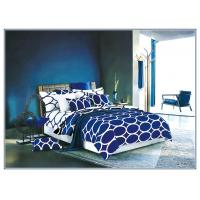 Buy cheap Disperse Printing Fashion Design Polyester Bed Set , Full Size / Queen Size Bedroom Sets from wholesalers