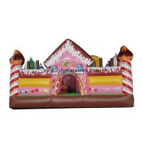 Buy cheap Kids Inflatable Bouncer Hous , Inflatable Slide Castles Combo For Park from wholesalers