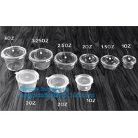 Buy cheap 1oz 2oz 5oz 8oz 9oz short glasses small clear disposable plastic sauce cup,Eco-freindly disposable 55ml 2oz biodegradabl from wholesalers