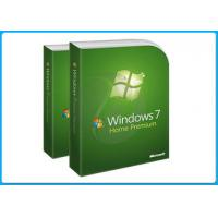 Buy cheap Genuine FPP Key Microsoft Windows Softwares Windows 7 Home Prem Oa Download Retail box from wholesalers