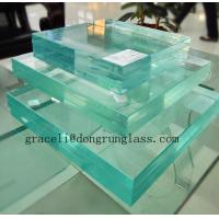 Buy cheap Extra clear glass / Ultra White Tempered Glass / Ultra clear tempered glass from wholesalers