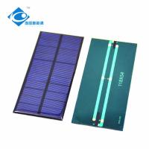 Buy cheap 0.9W Easy Carrying solar photovoltaic panels ZW-11854 cheapest sunpower solar panel 5.5V mini transparent solar panel product