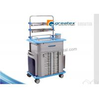 Buy cheap Anesthesia Cart Hospital Medication Trolley , Hot Emergency Crash Cart from wholesalers