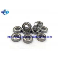 Buy cheap Miniature Z869 Radial Ball Bearings 8 * 19 * 6mm Gcr15 Steel For Bicycles from wholesalers