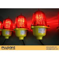 Buy cheap Low Intensity Led Aircraft Warning Lights Hub Mounted ICAO For Antenna Mast from wholesalers