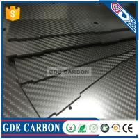 Buy cheap GDE 3K Twill Carbon Fiber Laminate Sheet,3K Carbon Fiber Plate from wholesalers