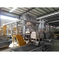 Buy cheap 98-99% Peeling Rate Roasted Peanut Peeling Machine Split Peanut Processing Plant product