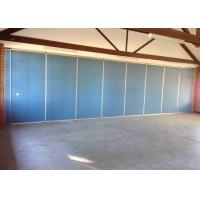 Buy cheap Heavy Duty Movable Partition Wall Wall Side Stacking Satin Anodised Polyester Powder Coating from wholesalers