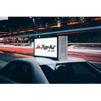 Buy cheap Taxi Top Digital Mobile LED Screen Advertising Waterproof P3mm High Brightness from wholesalers