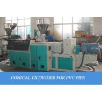 Buy cheap One In Four Pipes One In Two Pipes Plastic Pipe Making Machine For Pvc Material from wholesalers