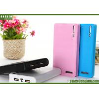 Buy cheap Wallet 18650 Power Bank 60000mAh / 12000mAh With Built - In Smart Chip product