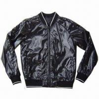 Buy cheap Men's sports jacket, made of nylon fabric with waterproof from wholesalers