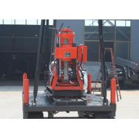 Buy cheap Multi Purpose Crawler Mounted Drill Rig 200m Depth For Railroad Construction from wholesalers