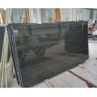 Buy cheap Popular Black Marble Chinese Wood Black Marble Black Wood Marble Slab,Marble Tile On Selling from wholesalers