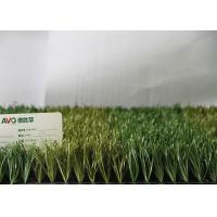 Buy cheap Fire Resistance Outdoor Synthetic Grass For Soccer Fields , Artificial Football Turf from wholesalers