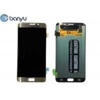 Buy cheap 2560 * 1440 Pixels Samsung Galaxy S6 Edge Plus LCD Screen Replacement 5.7 Inch from wholesalers