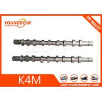 Buy cheap Forging Steel Renault Camshaft K4M 8200100528 8200100527 With ISO 9001 Standard product