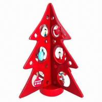 Buy cheap Christmas Decoration/Wooden Christmas Tree/Hollowed-out Tree from wholesalers