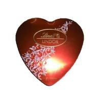 Buy cheap Various Colors Heart Shaped Chocolate Box , Custom Christmas Gift Boxes With Lids from wholesalers