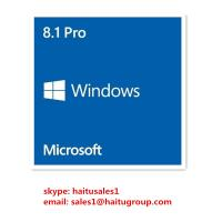 Buy cheap Full Version FPP Windows 8 Product Key Code , Microsoft Windows 8.1 Pro 32 / 64 Bit Key from wholesalers