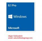 Buy cheap Full Version FPP Windows 8 Product Key Code , Microsoft Windows 8.1 Pro 32 / 64 Bit Key from wholesalers