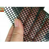 Buy cheap PP Extruded Plastic Screen Mesh 1m Wide , Black Polypropylene Mesh Netting from wholesalers