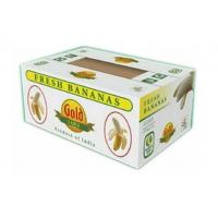 Buy cheap Corrugated Cardboard Fruit Boxes With Handle , Varnishing / Calendering Printing from wholesalers
