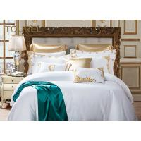 Buy cheap Home Decorative Special Craft White Bedding Sets Duvets With Green Bed Runner from wholesalers