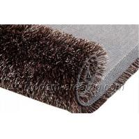 Buy cheap Contemporary Color Design Coffee Polyester 1200D Silky Shaggy Rug Carpet Anti-static from wholesalers