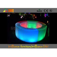 Buy cheap PE LED bar round counter / LED Glowing bar furniture from wholesalers