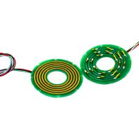 Buy cheap 2 Circuits Pancake Slip Ring with Separate Stator and Rotor for Air-to-Air Missiles from wholesalers