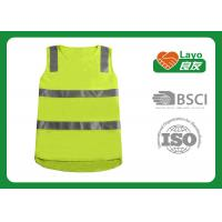 Buy cheap Summer Personalised Hi Vis Vest Sleeveless For Men / Women L-56 from wholesalers