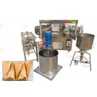 Buy cheap Electric Waffle Ice Cream Cone Machine / Commercial Waffle Cone Maker Machine from wholesalers