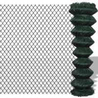 Buy cheap Dark Green Residential Chain Link Fence 5ft For Home Garden / Courtyard / Villa from wholesalers