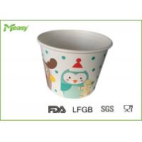 Buy cheap Customized Disposable Paper Bowl For Frozen Yogurt / Ice Cream , FDA  LFGB Standard from wholesalers