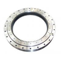 Buy cheap Single Row Slewing Ring Bearings of External Gear For Construction Machinery from wholesalers