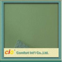 Buy cheap Cold-resistant Upholstery Artificial PU Leather With Flocking Back for Home Textile product